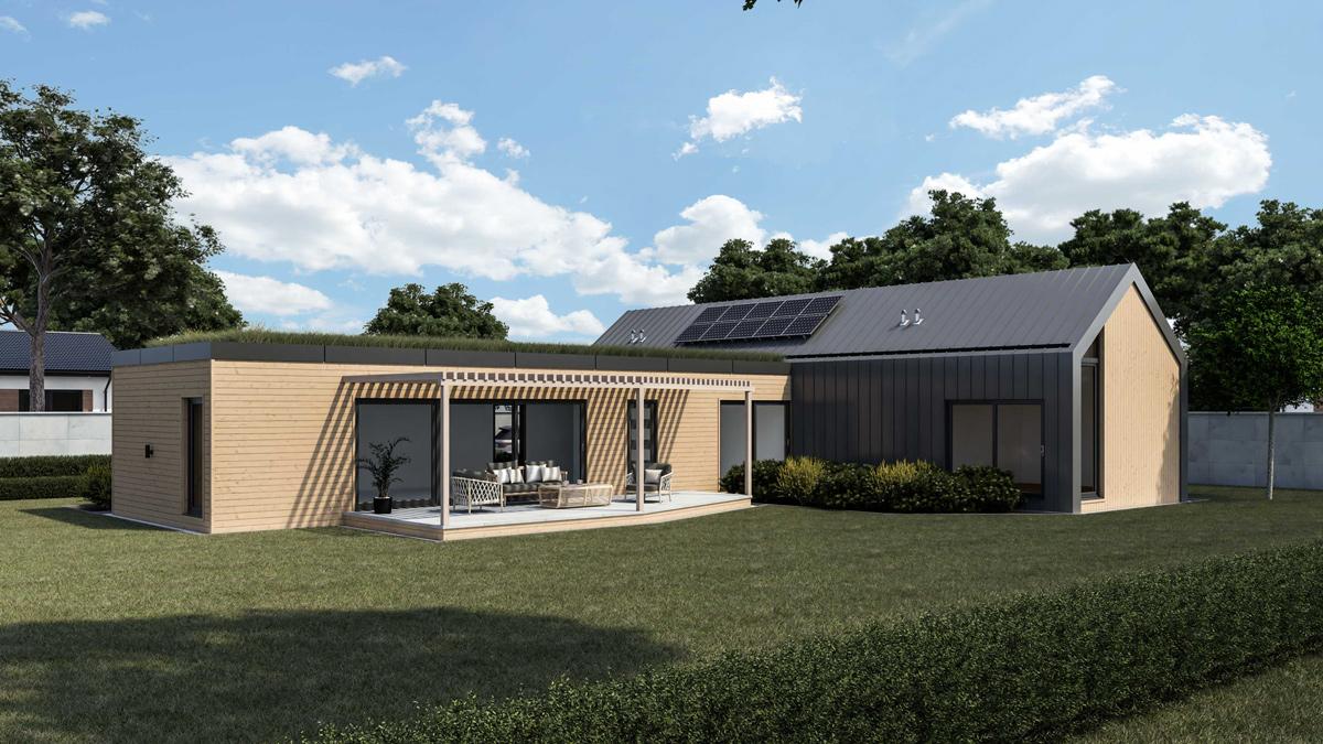 modulový dom Timberhouse